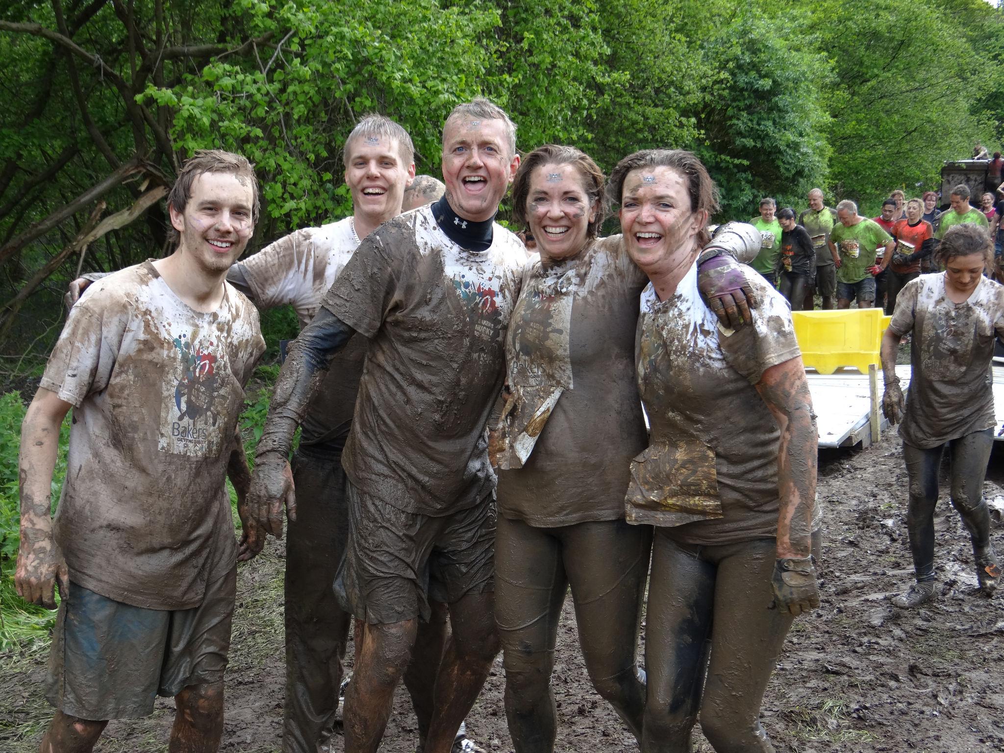Bakers' team get muddy